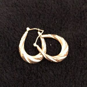 Jewelry - 14 K Gold Earrings